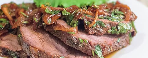 Caramelized Onion Steak
