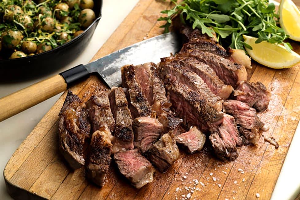 grass fed beef ribeye steak recipe