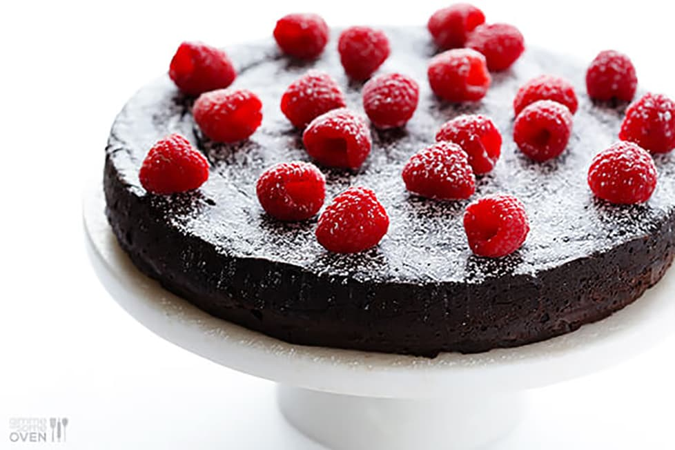 flourless chocolate cake recipes for valentines day
