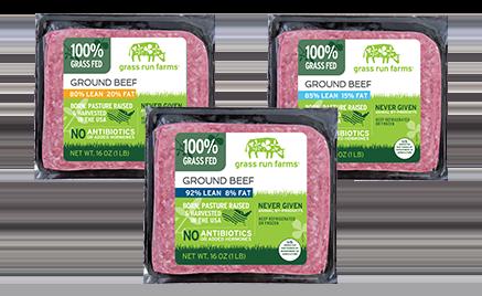 Natural Ground Beef Patties