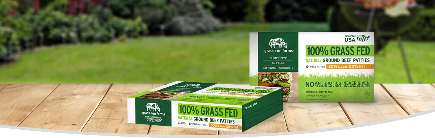 100% Grass fed beef frozen patties100% Grass fed beef frozen patties